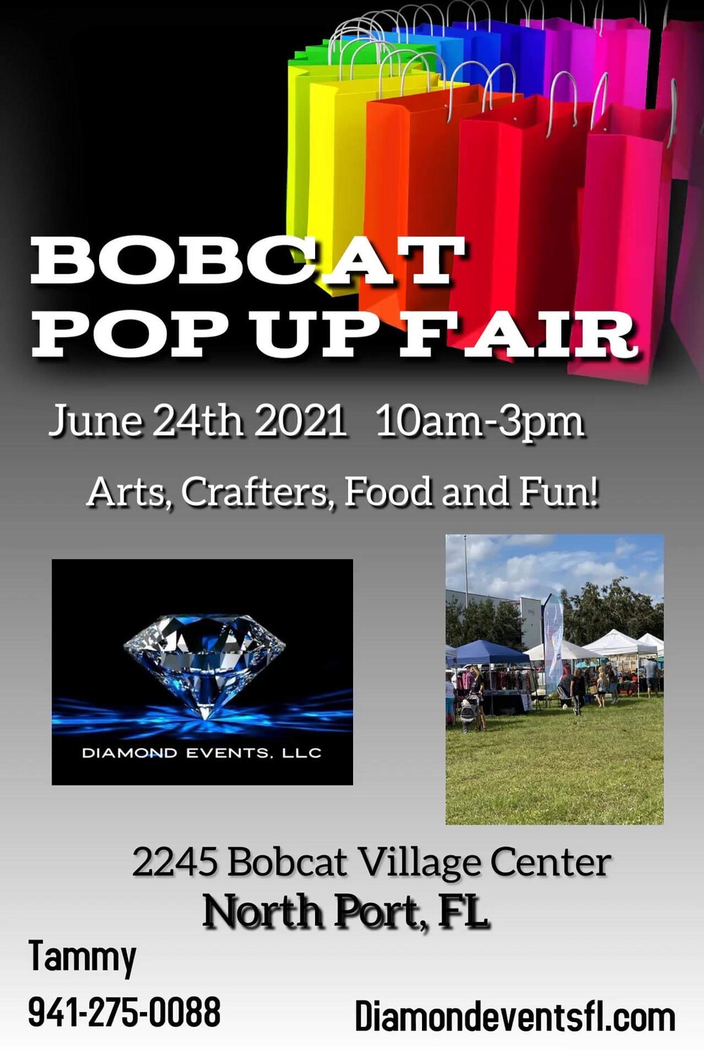 Bobcat Outdoor 10-3pm June 26th 2021