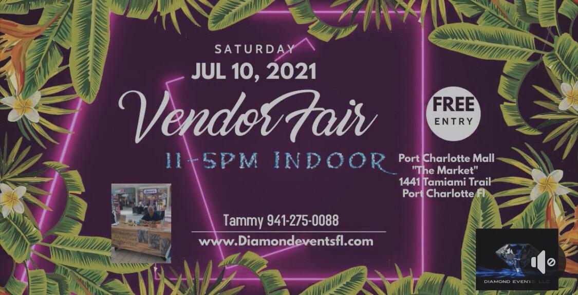 July 10th Port Charlotte Mall 11-5pm