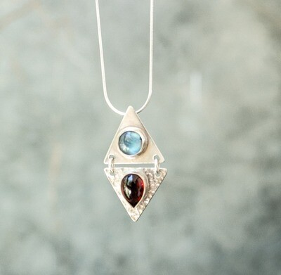 Fire and Ice Pendant