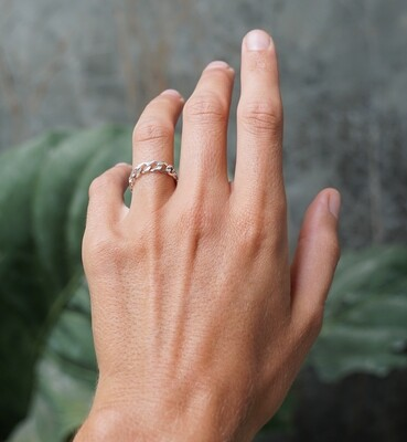 Lose chain ring