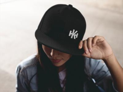 HK Snapback Hat (two colors)