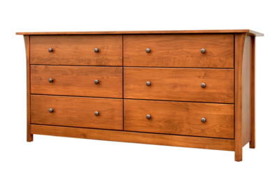 Cascadia 6 Drawer Dresser