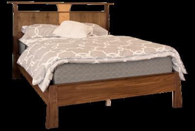 Reflections Walnut Platform Bed