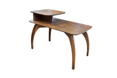 Tibro Limited Edition Walnut Lamp End Table