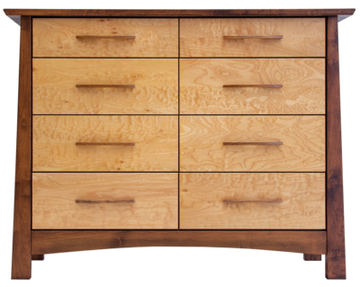 Reflections Limited Edition Maple 8 Drawer Dresser