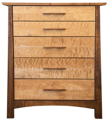 Reflections Limited Edition Maple 5 Drawer Chest