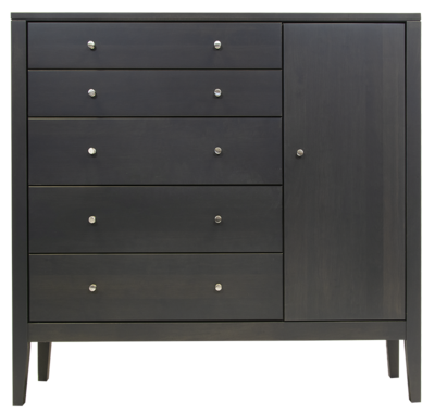 Calvin 5 Drawer Chest With Door-CLEARANCE
