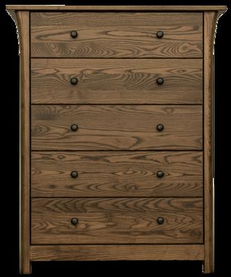 Cascadia Limited Edition Ash 5 Drawer Dresser