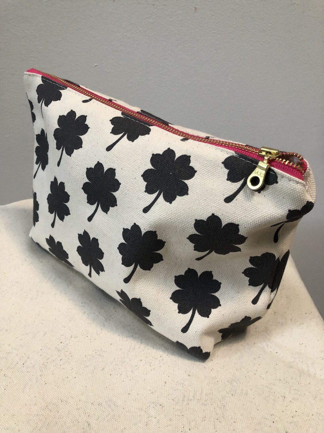 """Breast of Luck"" Makeup Bag"