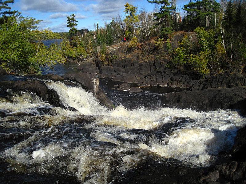 View from Kawishishwi Falls - Ely, Minnesota