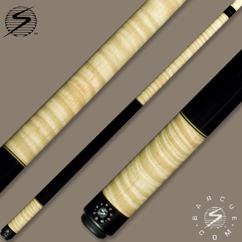 Samsara Bar Cue Series Curly Maple / Ebonized Wrap