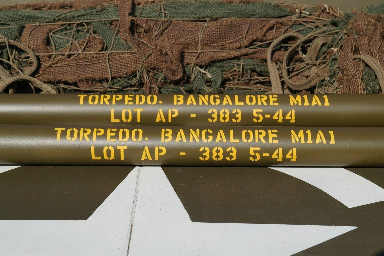 Bangalore torpedo tubes stencil set of 3