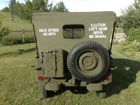 Jeep Canvas Hood stencil Set ww2 war army willys Ford Hotchkiss