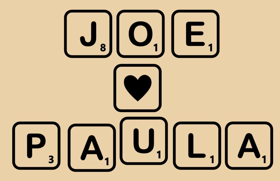Scrabble letter sticker decals mk1