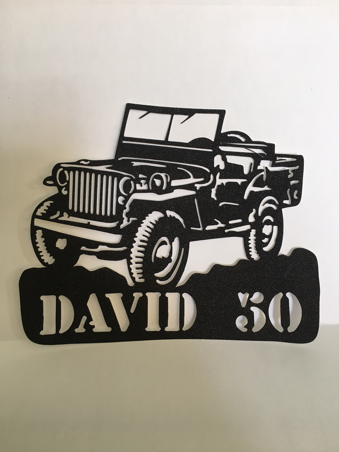 Willys Ford Jeep Cake Topper
