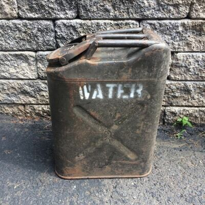 Jerry Can markings Water, Petrol, MoGas, Gas