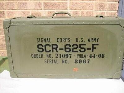 Customer Chris Abraham Mine Detector box