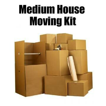 Medium House Moving Kit