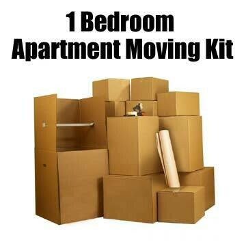 1 Bedroom Apartment Moving Kit
