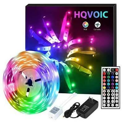 LED Strip Lights For Backlighting TV or Bedroom/Living Room Decoration with Remote
