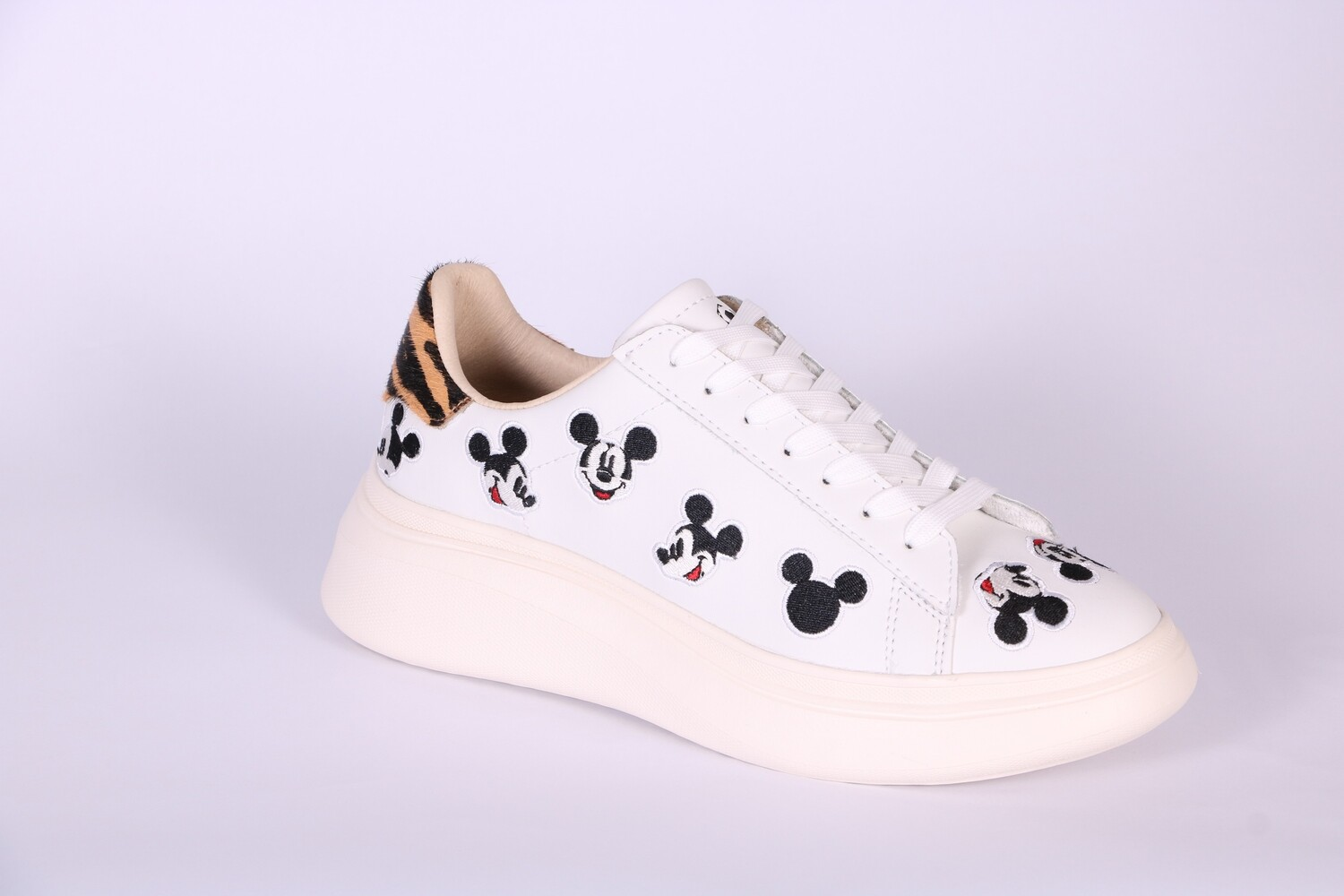 MOA MASTER OF ARTS DISNEY DOUBLE GALLERY WHITE MICKEY ALL OVER SCARPE DONNA