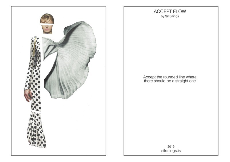 Póstkort - ACCEPT FLOW