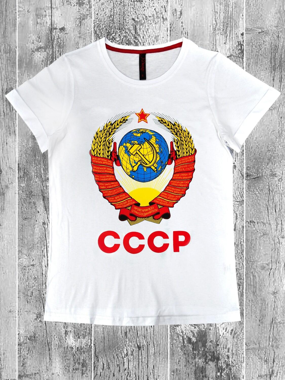 """Футболка женская """" Герб СССР"""""""