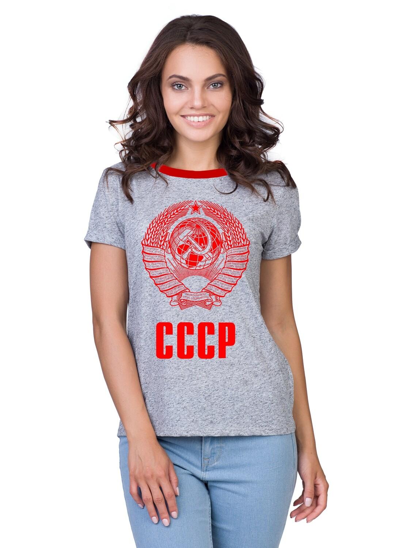 """Футболка женская """" Герб"""""""