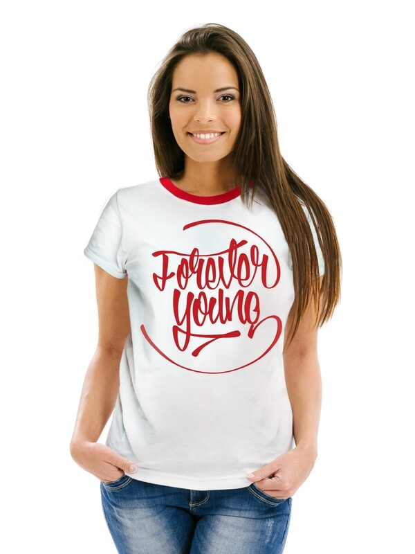 "Футболка женская "" Forever young"""
