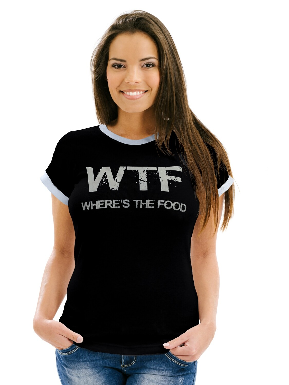 """Футболка женская """" WTF"""""""