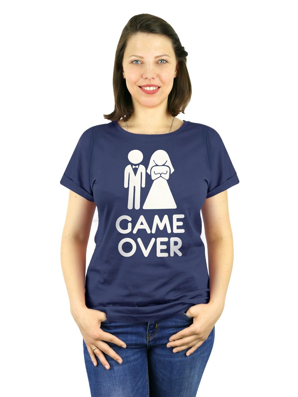 "Футболка женская "" Game over"""