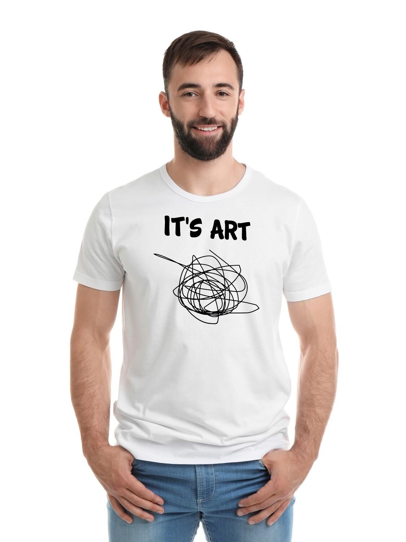 """Футболка мужская """" It's ART"""""""