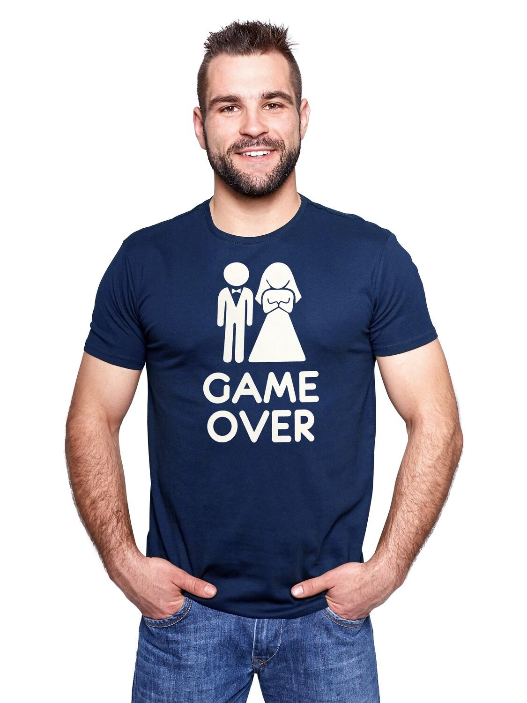 """Футболка мужская """" Game over"""""""