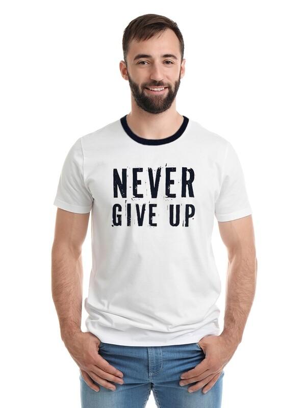 """Футболка мужская """"Не сдавайся"""""""