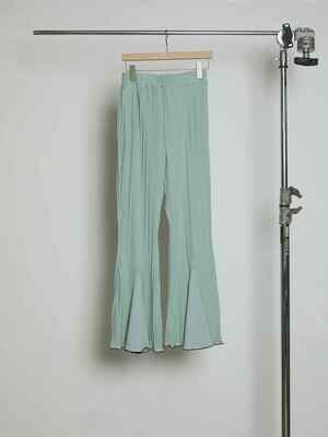 Tuck Pleats JQ  Flare Pants