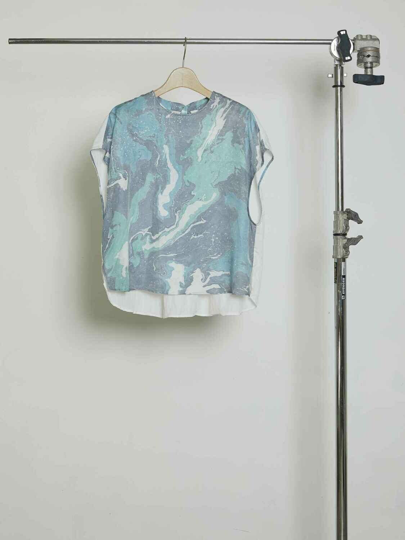 Suminagasi Dye Short sleeves BL