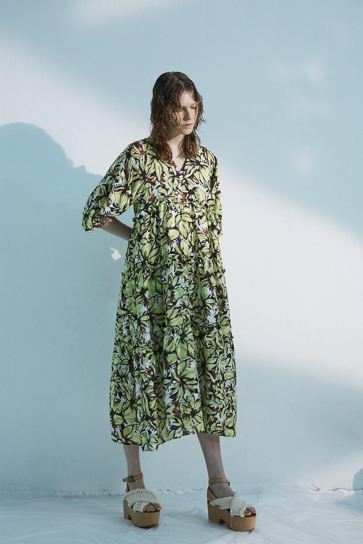 Retouch Flower PT Long Dress