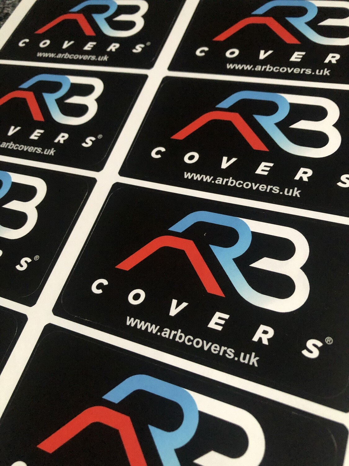 ARB Covers Stickers