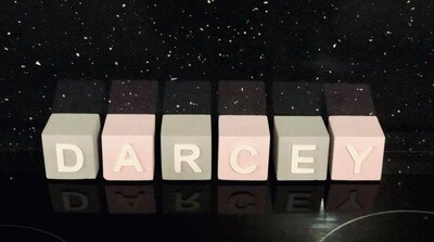 Personalised Wooden Letter Blocks