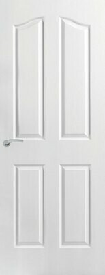 4 Panel Arch Top Moulded Door