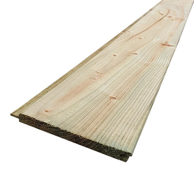 16 x 125mm Treated Matchboard T&G