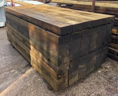 2.4m 200 x 100 Pressure Treated Softwood Sleepers*