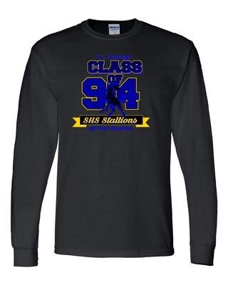 Black Schlagle Class of 94 Reunion Long Sleeve T-shirt