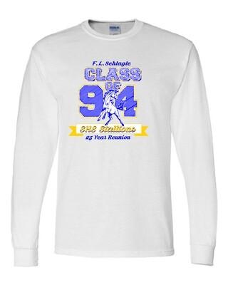 White Schlagle Class of 94 Reunion Long Sleeve T-shirt