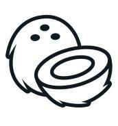 Large Coconut Cream Pie