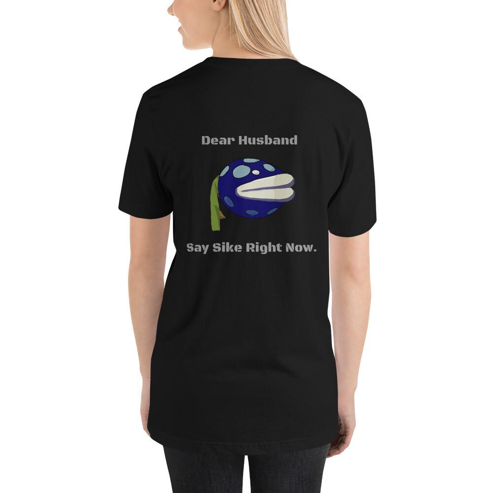 Mega Dear Husband Short-Sleeve Unisex T-Shirt