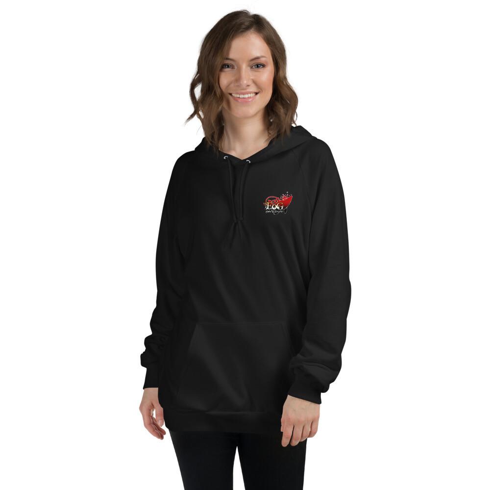 Eden Logo 100% Cotton Unisex Fleece Hoodie