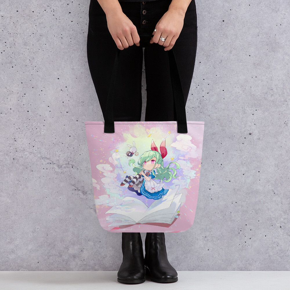 Lilith in Wonderland Tote bag