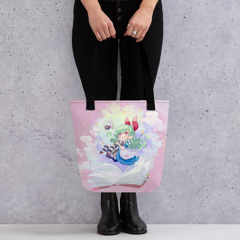 Lilith in Wonderland Tote bag