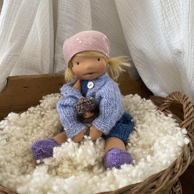 Puppe Ylvi   (kleine Wölfin)